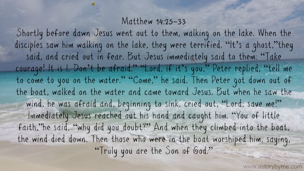 Matthew 14:25-33