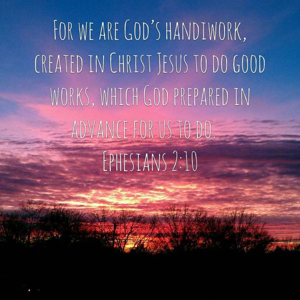 We are God's Handiwork