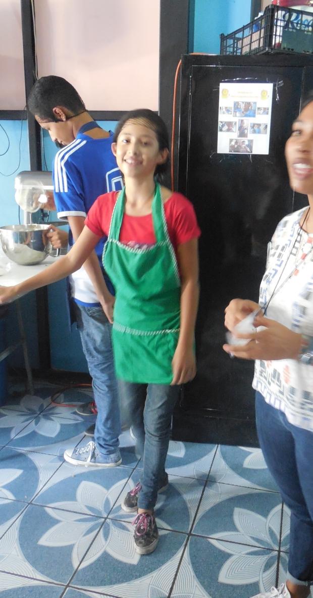 es baking girl